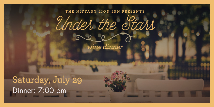 Under the Stars Wine Dinner