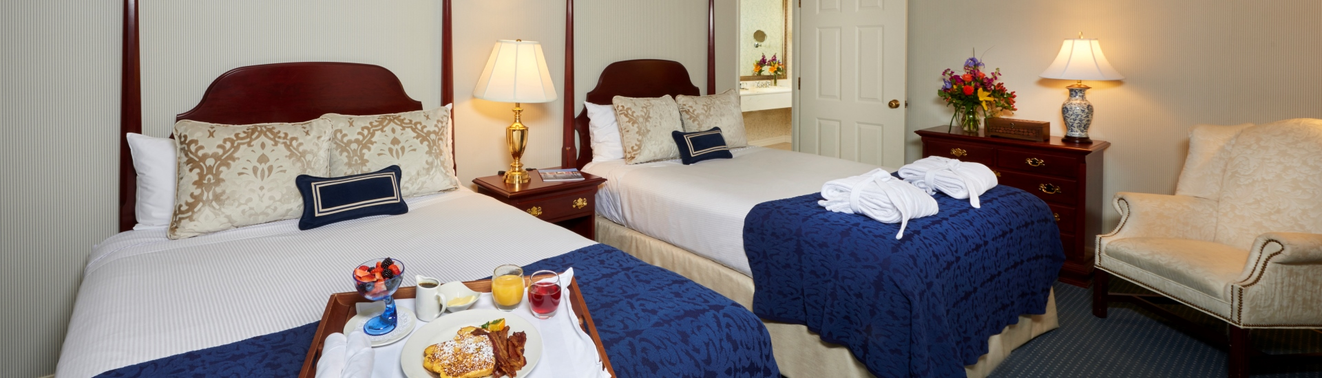 Queen Suite at The Nittany Lion Inn