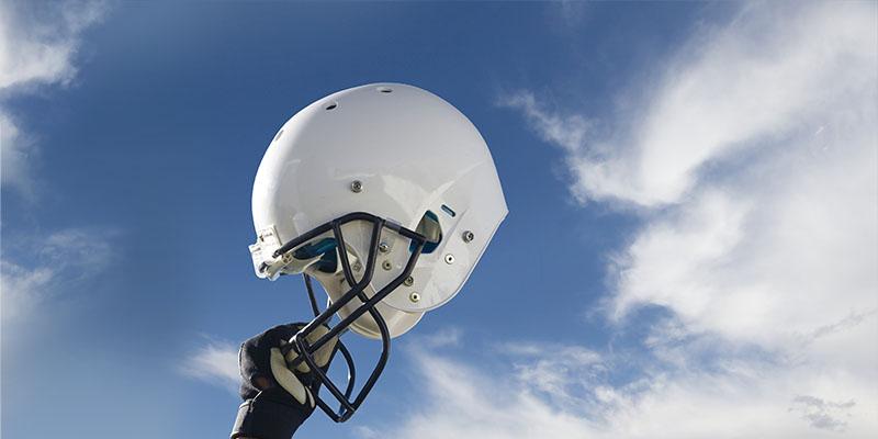 PSU Football Helmet