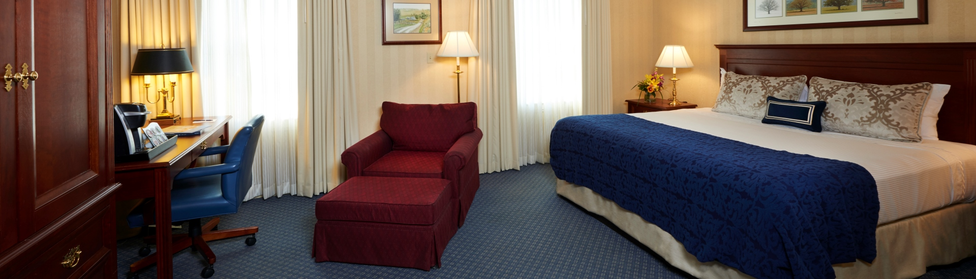 Accessible King Room at The Nittany Lion Inn