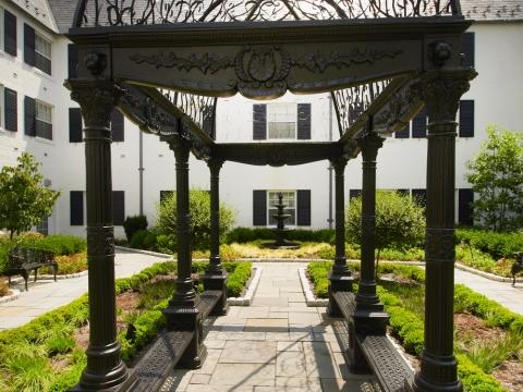 Courtyard Awning