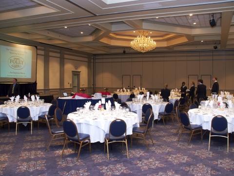 Ballroom Meeting setup