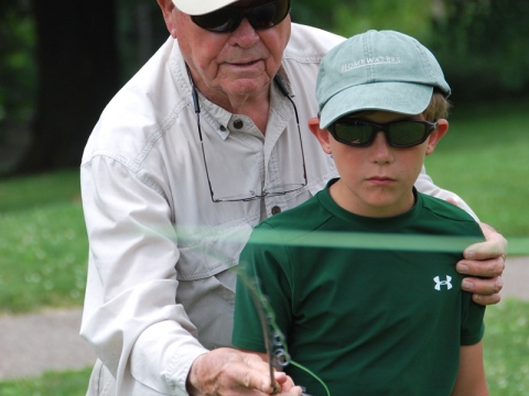 Lefty Kreh teaching