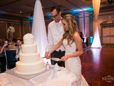 Ballroom Wedding Cake