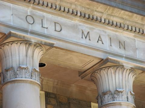 Old Main facade